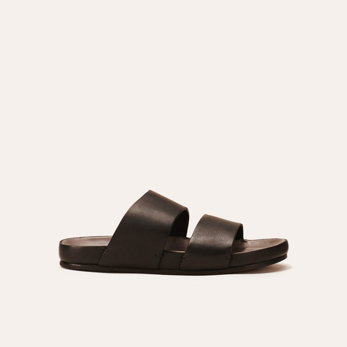 Leather  Black Grey by Feit