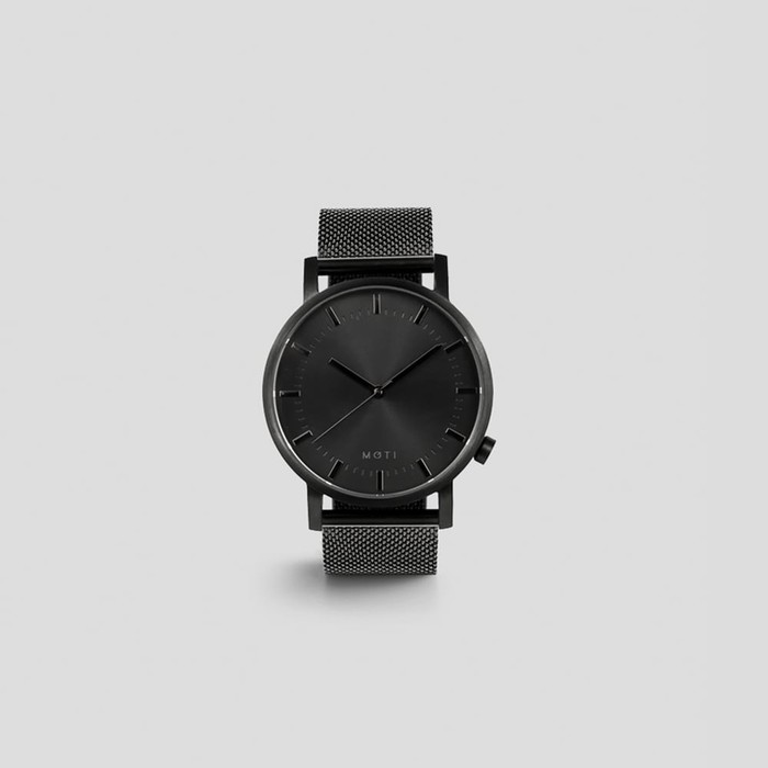 Black + Mesh by Moti