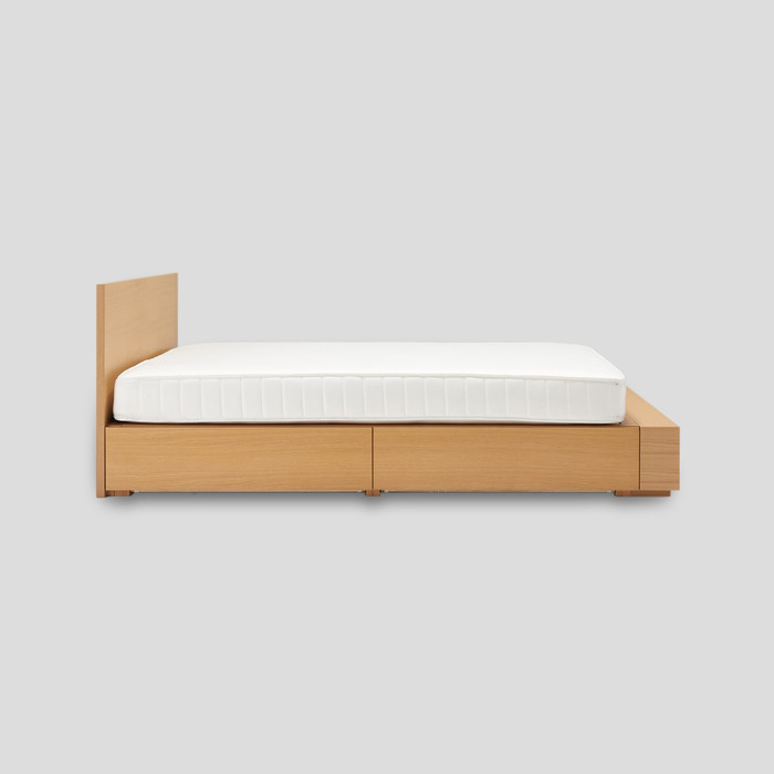 Oak Storage Bed by Muji