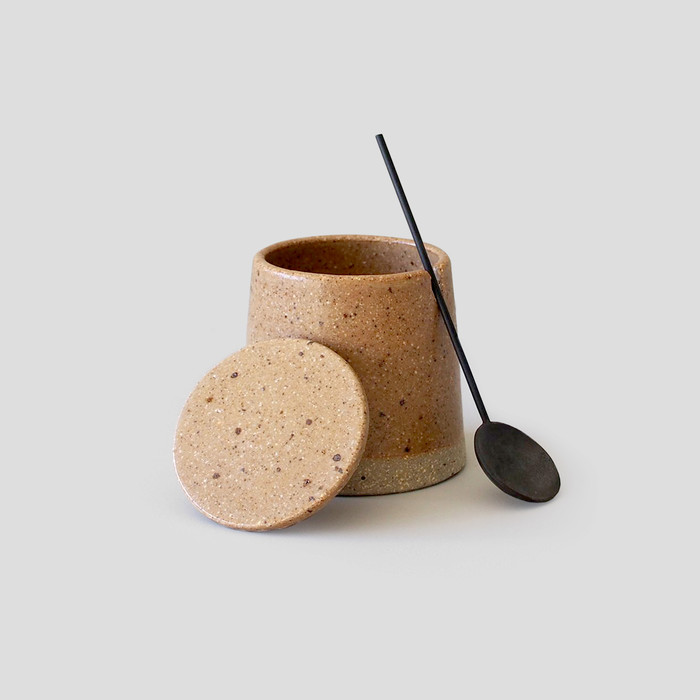 Pot and Spoon by Wingnut & Co